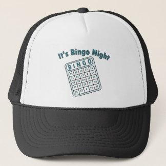 Bingo-Nachtkarte Truckerkappe