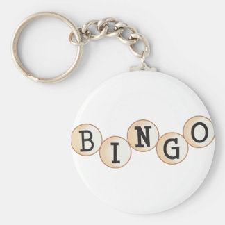 Bingo Schlüsselanhänger