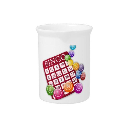 Bingo-Spiel Krug