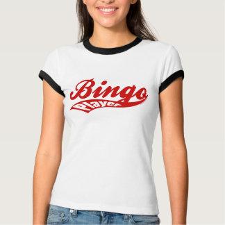 Bingo-Spieler trägt Skriptwecker-Damen-Shirt zur T-Shirt