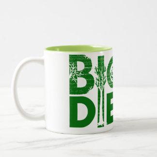 BiodieselTasse Zweifarbige Tasse