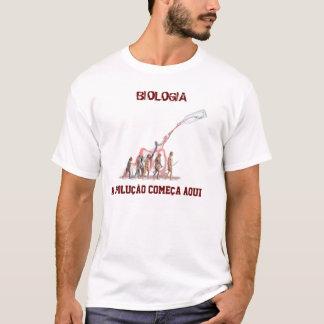 Biologie, BIOLOGIE fängt die Entwicklung, hier an T-Shirt