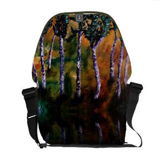 Birch Forest Reflections Messenger Bag