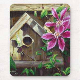Birdhouse 0003 u. Clematis Mousepad