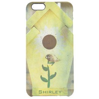 Birdhouse durch Shirley Taylor Durchsichtige iPhone 6 Plus Hülle