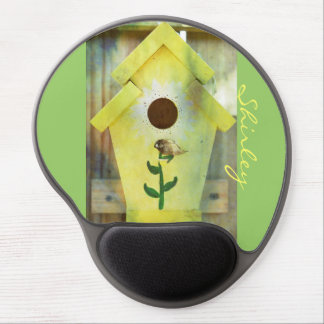 Birdhouse durch Shirley Taylor Gel Mousepad