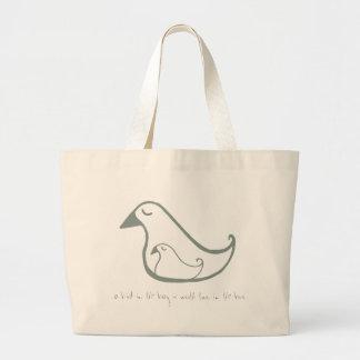 Birdie-Taschen-Tasche Jumbo Stoffbeutel