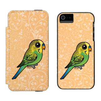 Birdorable Budgerigar Incipio Watson™ iPhone 5 Geldbörsen Hülle