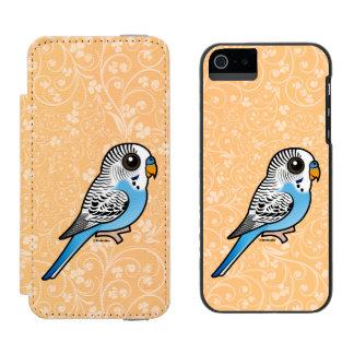 Birdorable Budgie Blau Incipio Watson™ iPhone 5 Geldbörsen Hülle