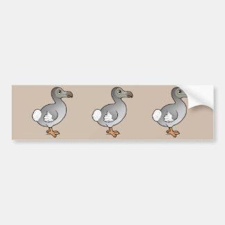 Birdorable Dodo Autoaufkleber
