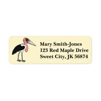 Birdorable Marabu-Storch