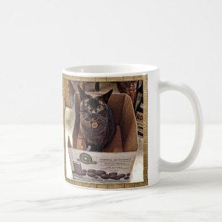 Birmanische Katze im Saft-Kasten Kaffeetasse
