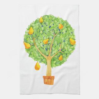 Birnen-Baum-Geschirrtuch Handtuch