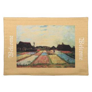 Birnen-Felder, Vincent van Gogh Stofftischset