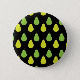 Birnen-Muster Runder Button 5,7 Cm