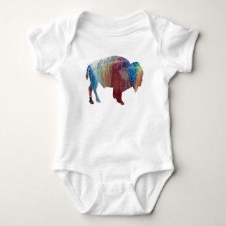 Bisonkunst Baby Strampler