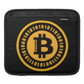 Bitcoin alphanumerische Zahlen Sleeve Für iPads
