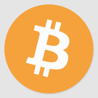 Bitcoin - Cryptocurrency Alliance Runder Aufkleber