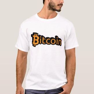 Bitcoin Dollar Schrift T-Shirt