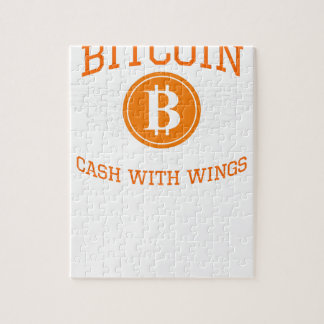 Bitcoin Flügel Puzzle