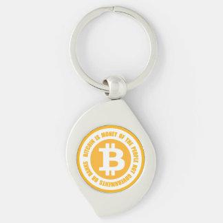 Bitcoin ist Geld der Leute-nicht Regierungen Schlüsselanhänger