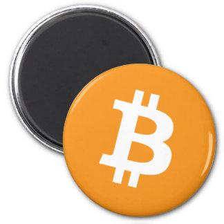 Bitcoin Magnet Runder Magnet 5,7 Cm