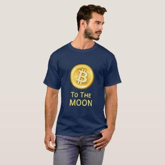 Bitcoin zum Mond T-Shirt