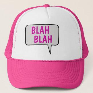 Blabla Blabla Sprache-Blasen-sprechenhut Truckerkappe