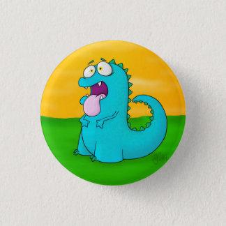 Blabla Dino, Knopf Runder Button 2,5 Cm