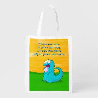 Blabla Dino, wiederverwendbare Tasche Wiederverwendbare Einkaufstasche