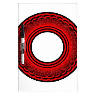 Black-Red Ring Memoboard
