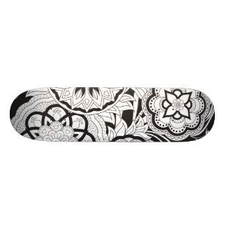 black&white an~ordnen pattern with sie an individuelle skateboards