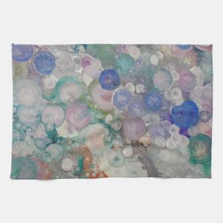 Blase abstrakt handtücher