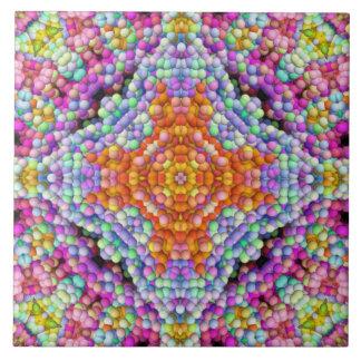 Blase-Mosaik Diamant-Stern Mandala-Fliese Fliese