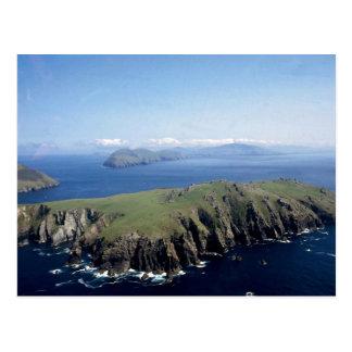 Blasket Insel, Kerry, Irland Postkarte
