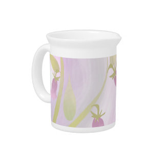 Blaß - rosa Aquarell-Wäsche 19 Unze Pitchet Getränke Pitcher
