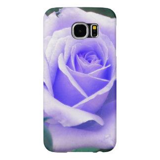 Blasser Kasten Lavendel-Rosen-Samsungs-Galaxie S6