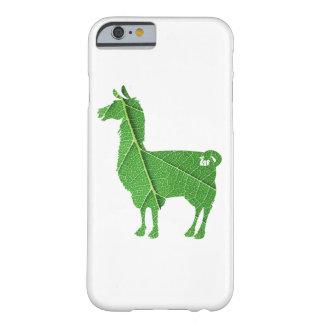 Blatt-Lama-Fall Barely There iPhone 6 Hülle