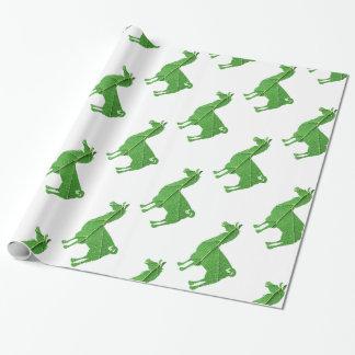 Blatt-Lama-Packpapier Geschenkpapier