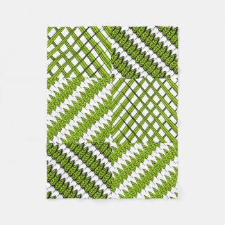 Blätter und Gras-Baby-Fleece-Decke Fleecedecke