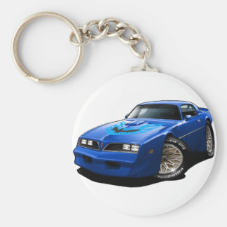 Blau 1977-78 Transportes morgens Schlüsselanhänger