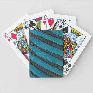 Blau Blau-Aufgeblähter Rollen-Feder-Entwurf Bicycle Spielkarten