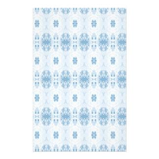 blau briefpapier
