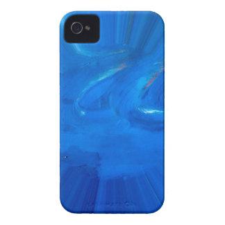 blau Case-Mate iPhone 4 hülle