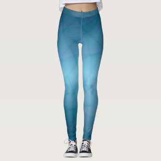 Blau Leggings