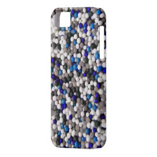Blau-Pop besprüht Kasten iPhone 5 Hüllen