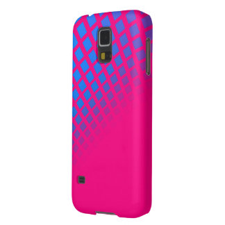 Blau-und Pink-Kasten Galaxy S5 Hülle