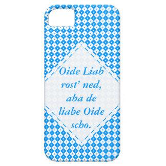 Blau weiß Minimalistisch Barely There iPhone 5 Hülle