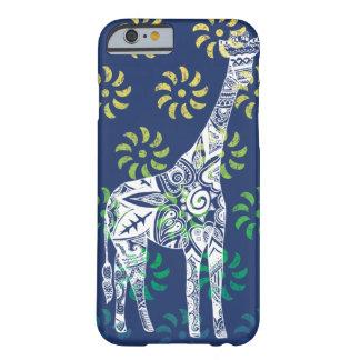 Blau Whirls Giraffe iPhone 6 Fall Barely There iPhone 6 Hülle