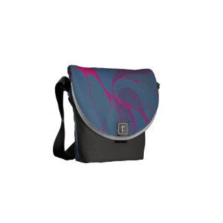 Blaubeerspritzen-Tasche Kuriertasche
